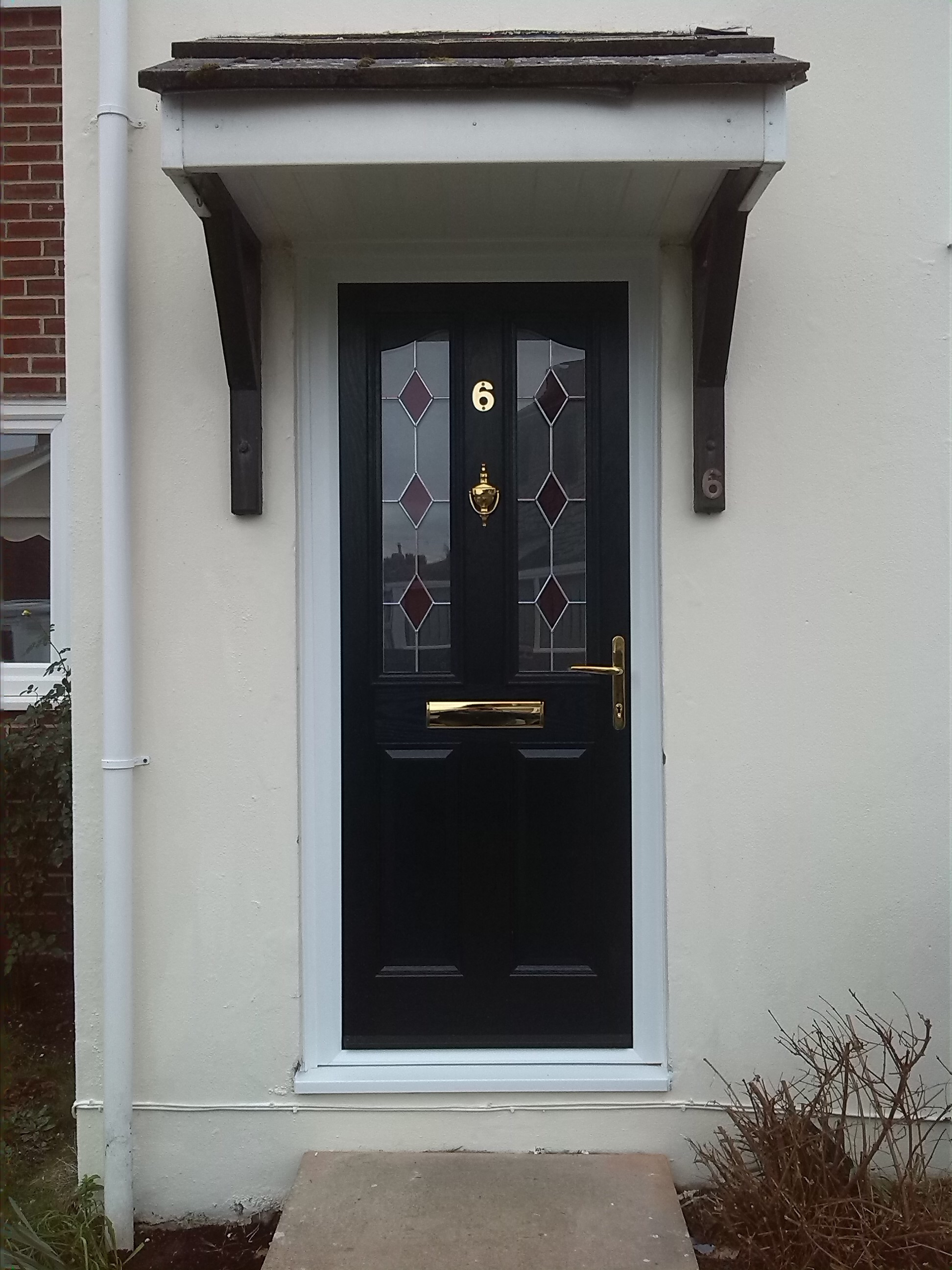 Composite front door fitted in weymouth dt4 window wizards for Exterior doors fitted